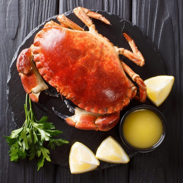 Whole Brown Crab